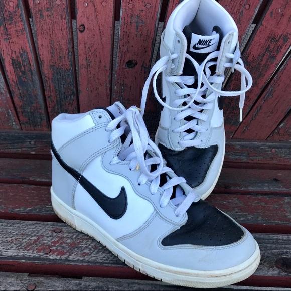 Nike Shoes | Nike Id Dunk Black White